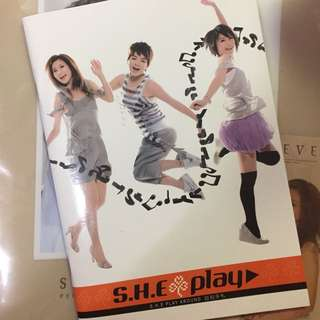 🚚 SHE play自拍筆記本