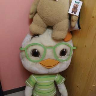 Talking ted and chicken little