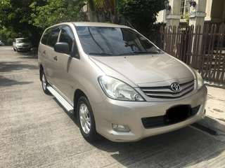 Toyota Innova 2012 E Gas AT