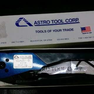 Astro 615708 CRIMP 及 615709 HEAD 美國製