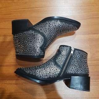 Sol Sana Australia Genuine Leather Studded Boots
