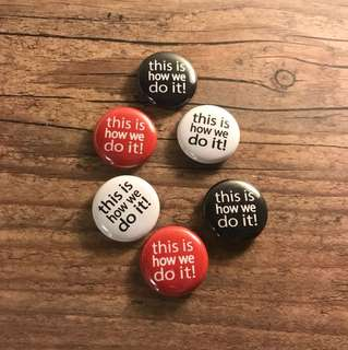 Slogan Badges