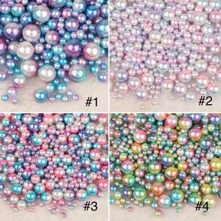 250pcs Mermaid / Unicorn Pearls Bead