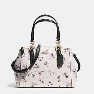 AUTHENTIC Coach Mini Christie Carryall With Small Wildflower Print