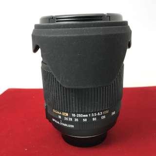 Sigma 18-250 F3.5-6.3 Nikon