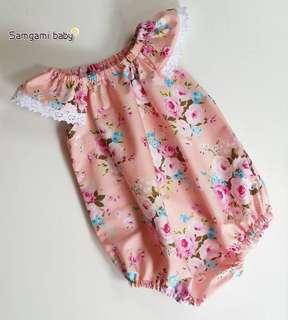 Floral Romper baby girl