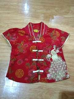 Baju dan rok shanghai anak
