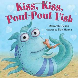 BRAND NEW Kiss, Kiss, Pout-Pout Fish (A Pout-Pout Fish Mini Adventure) BOARD BOOK
