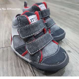 Baby Red Gray Shoes