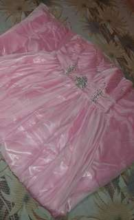 LIGHT PINK JS PROM GOWN