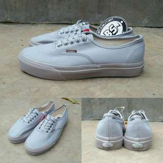 Vans authentic hemp medium grey