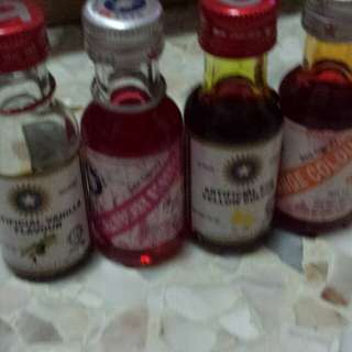 [USED] Food coloring & scents