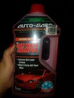 Auto gard carwash shampoo