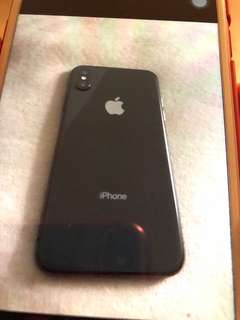 Space grey 64gb iphone x
