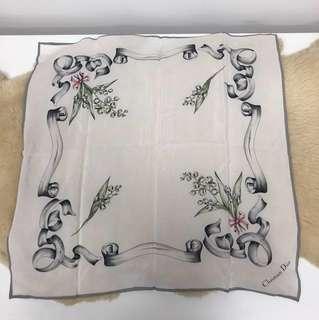 Dior 💯 Silk 70cm Scarf (Wifey Maternity Sale)