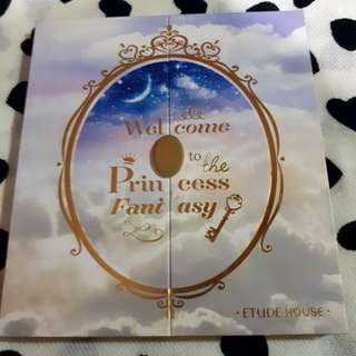 Free Sf Etude House Princess Fantasy Eyeshadow Pallete