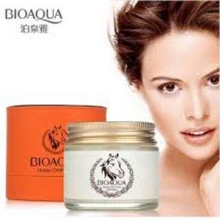 Bioaqua Horse Oil Cream Anti Aging Cream Scar Face Body Whitening Cream