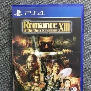 Romance of the three kingdoms PS4