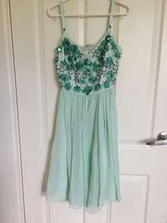 Alannah Hill Mint Green Dress size 8
