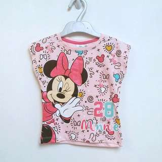 Girls 100% cotton knitted Tee
