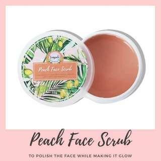 Peach Face Scrub