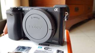 SONY α6000 E-MOUNT BODY ONLY