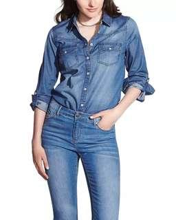 Denim shirt ( kemeja jeans )