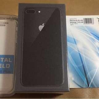 Apple Iphone 8 Plus 64gb Black Sealed 未開封條