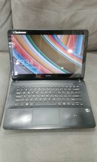 "Laptop Sony Vaio 14"" Touchscreen"
