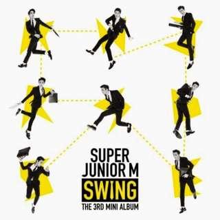 Super Junior M SWING The 3rd Mini Album