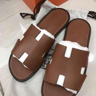 Hermes 男仕 拖鞋