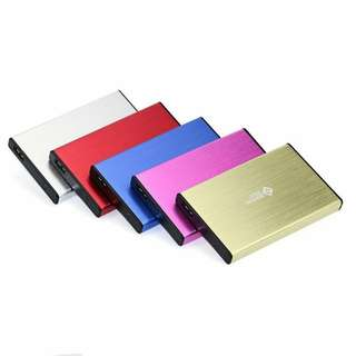 Portable External Hard Drive USB 3.0 SATA 2.5 inch Casing (Red Only)