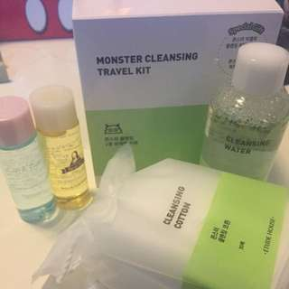 Étude house Monster Cleansing Travel Kit