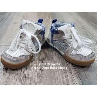 Zara Baby High-Cut Sneakers