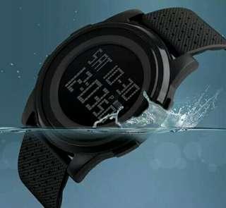 Jam tangan dgital pria&wanita SKMEI 1206