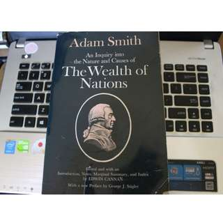 E 07 - THE WEALTH OF NATIONS Karya : ADAM SMITH (edited by EDWIN CANNAN) #Liga18