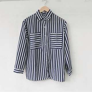 Ready stock - double stripe