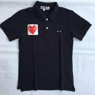 Polo Shirt CDG Comme des Garcons black