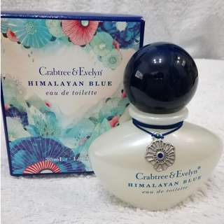 Crabtree & Evelyn Himalayan Blue eau de toilette Perfume EDT 淡香水 30ml