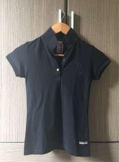 Folded & Hung Pilipinas Green Collar Shirt