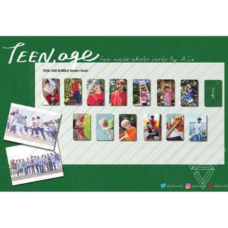 Seventeen Director's Cut Green Version Fan made Photo Cards (13PC)