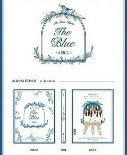 April 5th Mini Album - The Blue