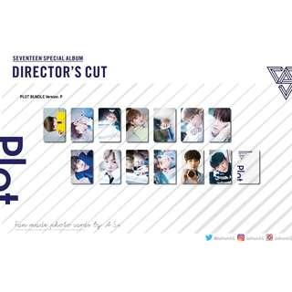 Seventeen Directors Cut Plot Unofficial Photo Cards (13PC)