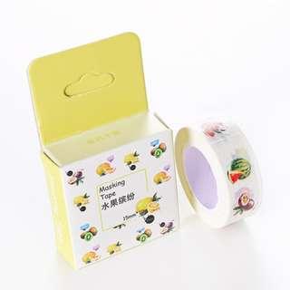Washi Tape - Fruits