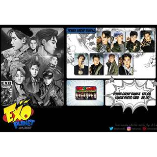 EXO THE WAR: POWER OF MUSIC UNOFFICIAL PHOTO CARDS (8PC)