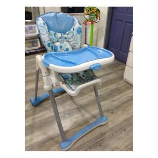 Blue High Chair