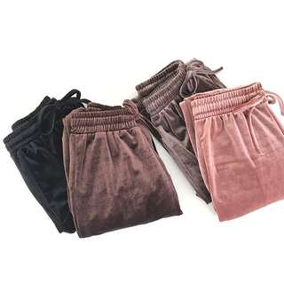 [PO] Velvet Slacks Pants