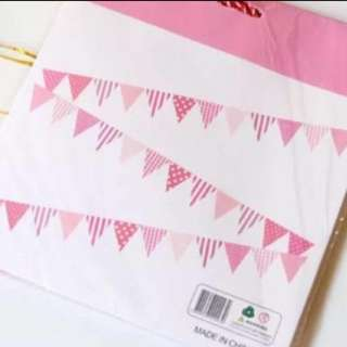 Party Flags (Pink)