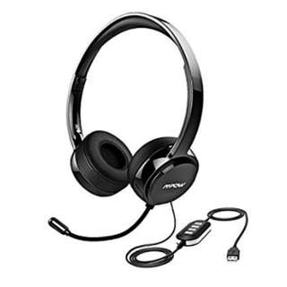 Mpow USB/3.5mm Headset With Microphone