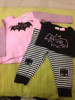 Batgirl Nightwear Set